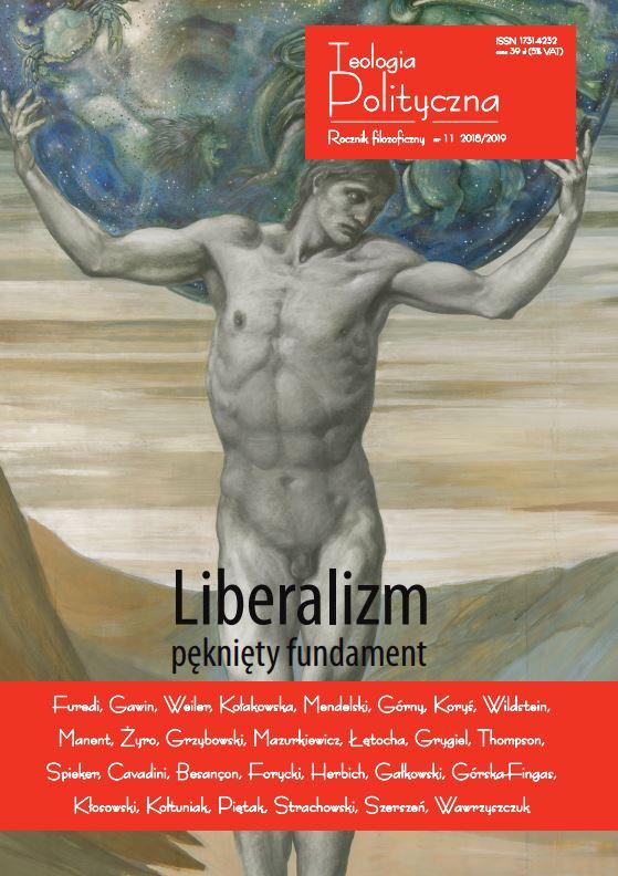 """Teologia Polityczna nr 11, """"Liberalizm – pęknięty fundament"""